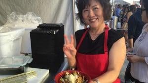 Korus Korean Festival Tysons Corner, VA 2015 - yes, serving American Eel! http://www.tasteusa.com/event/16526/13th-annual-korus-korean-festival