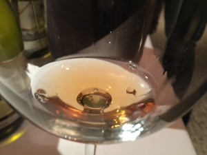 Georgian white wines often have this cool orange/amber color!