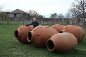 Qvevri - the Traditional Georgian Clay Pots for Storing Wine!