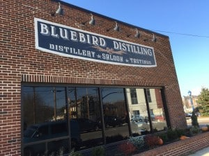 Bluebird Distillery in Phoenixville, PA!